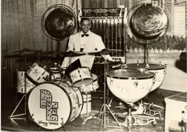 Sonny-Greer-drum-kit