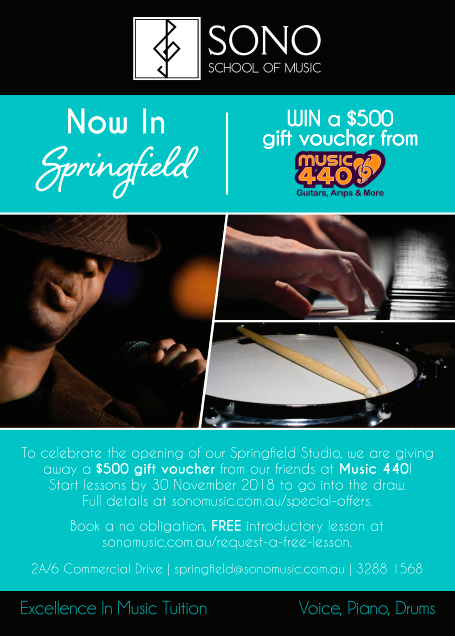 Sono Music now in Springfield