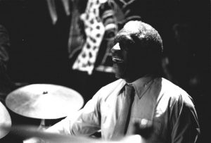 "Art Blakey was one of the pioneering Bebop drummers who helped to define a new style of jazz after the decline of the swing era. In this new style of ""bebop"" jazz, drumm"