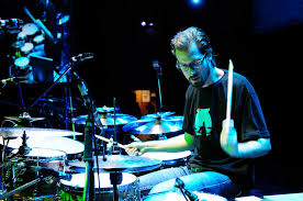 "Benny Greb is a more recent phenomenon. He released a book and dvd titled ""The Language Of Drumming"" which has become very popular due to its simple and systematic approach to building vocabulary."