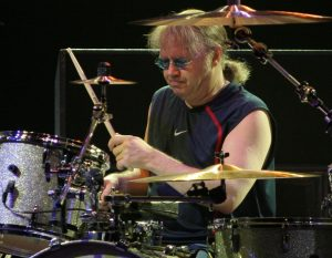 "Ian Paice is the drummer for the classic rock band ""Deep Purple""."