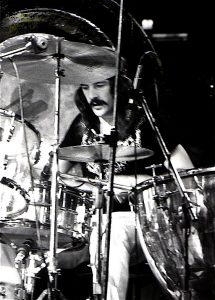 John Bonham has a BIG sound distinctive sound that is easy to recognise.